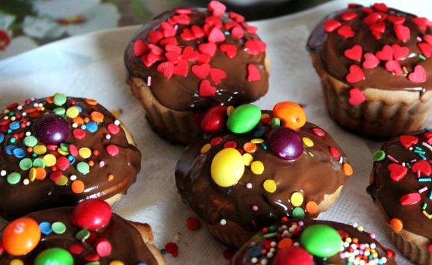 Кексы своими руками рецепты с фото 44