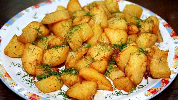 Картошка по деревенски в рукаве в духовке рецепт с пошагово в