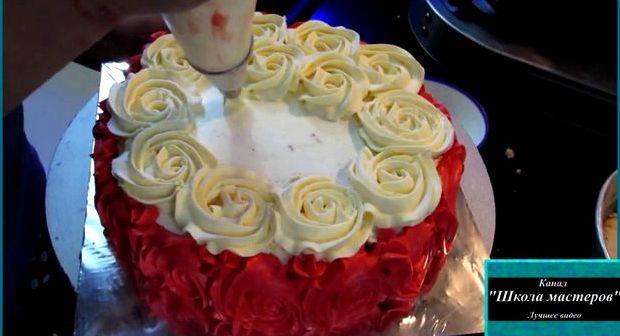 Рецепт крема из сливок для торта