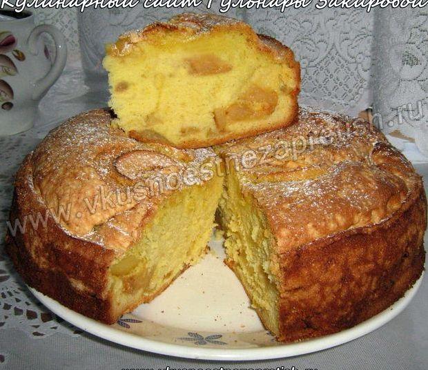 Шарлотка с яблоками рецепт фото пошагово в духовке