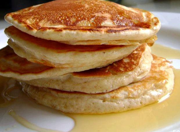 Оладьи на молоке без яиц пышные рецепт с фото быстро