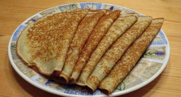 Ажурные блины на кефире с кипятком рецепт с фото пошагово