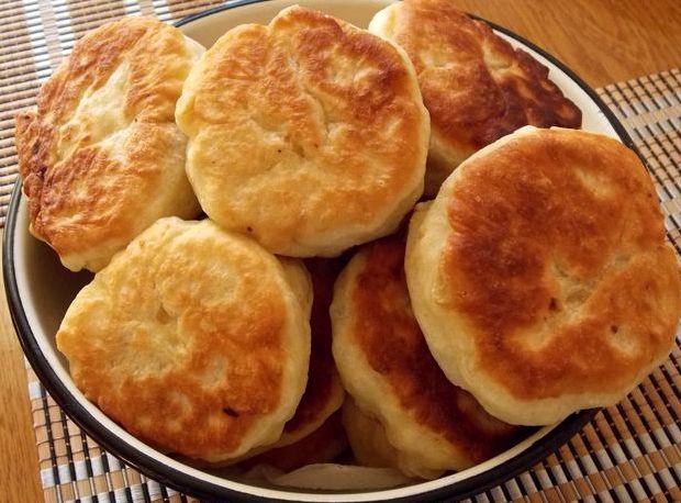 Беляши с мясом на сковороде рецепт с фото пошагово