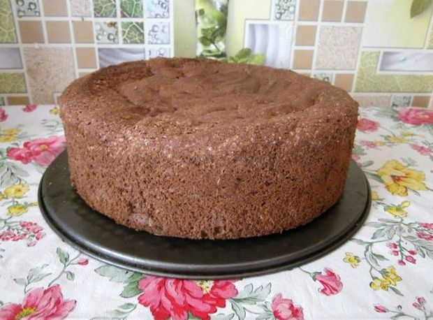 Бисквитный торт шоколадный рецепт с фото пошагово в домашних условиях