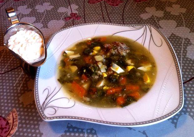Борщ зеленый со щавелем рецепт с фото классический рецепт