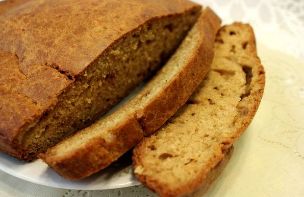 Быстрый хлеб в домашних условиях в духовке рецепт с фото