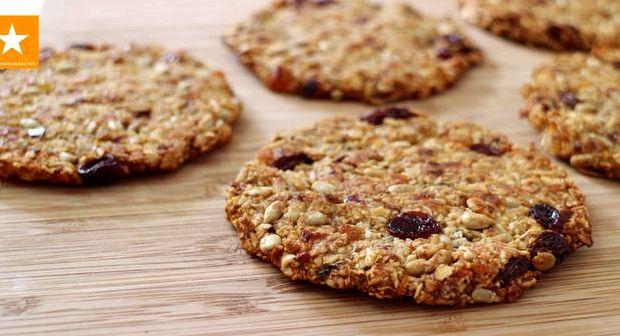 Диетическое овсяное печенье из овсяных хлопьев рецепт