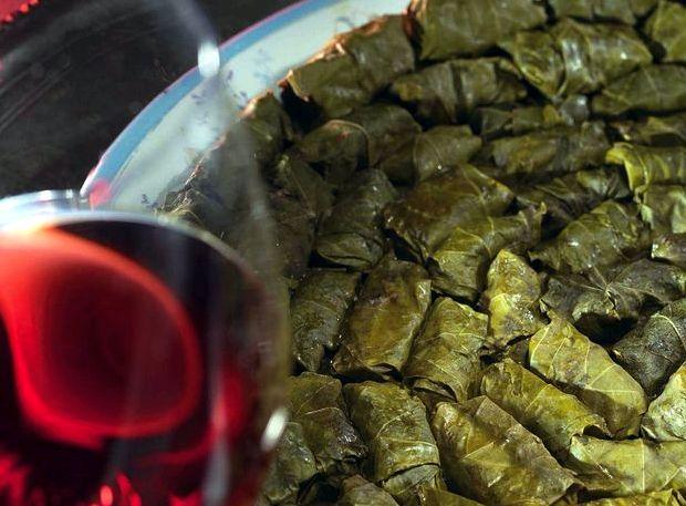Долма рецепт в виноградных листьях в мультиварке
