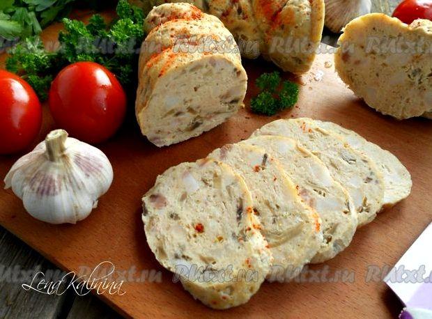 Домашняя куриная колбаса в домашних условиях рецепт