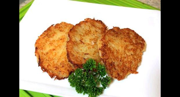 Драники картофельные без муки рецепт пошаговый с фото