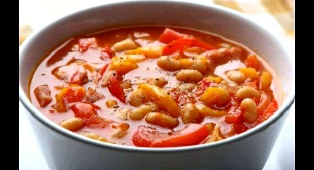 Фасоль по монастырски с овощами рецепт на зиму как в магазине