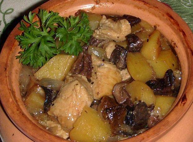 Грибной суп из сушеных грибов с мясом рецепт с фото