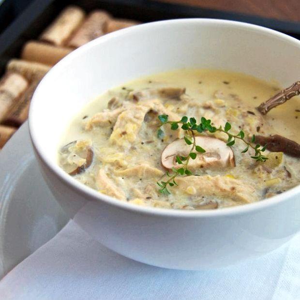 Грибной суп из сушёных грибов с перловкой рецепт