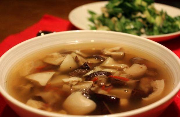 Грибной суп из замороженных грибов с перловкой рецепт с фото
