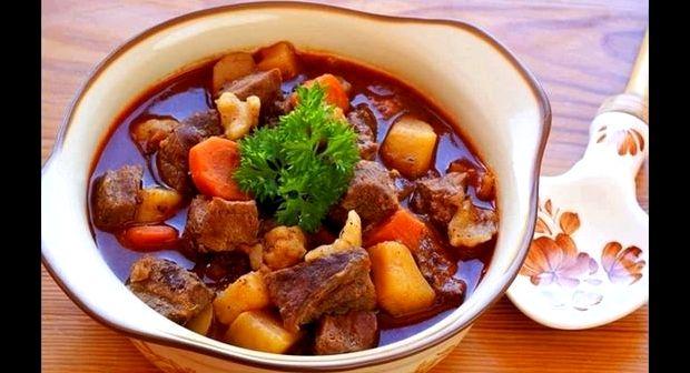 Гуляш из говядины в мультиварке рецепт с фото пошагово