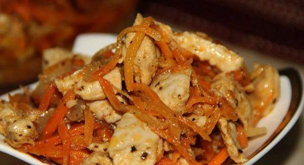 Хе из курицы по корейски рецепт с фото пошагово