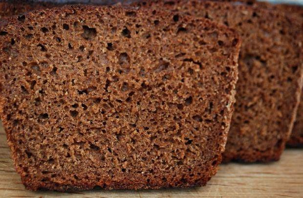 Хлеб черный в домашних условиях в духовке рецепт с фото