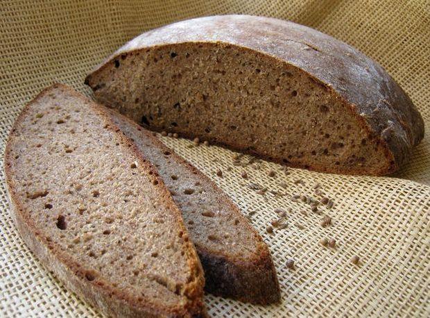 Хлеб на хмелевой закваске рецепт пошаговый с фото