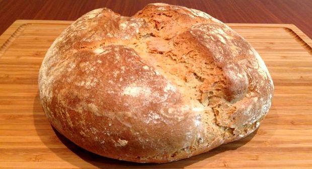 Испечь хлеб без дрожжей дома в духовке рецепт простой
