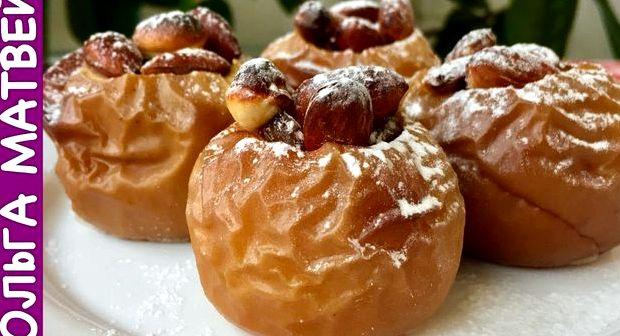 Яблоки печеные в микроволновке рецепт пошагово с фото