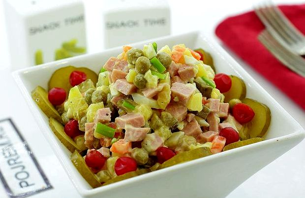 Как приготовить салат оливье пошаговый рецепт с фото