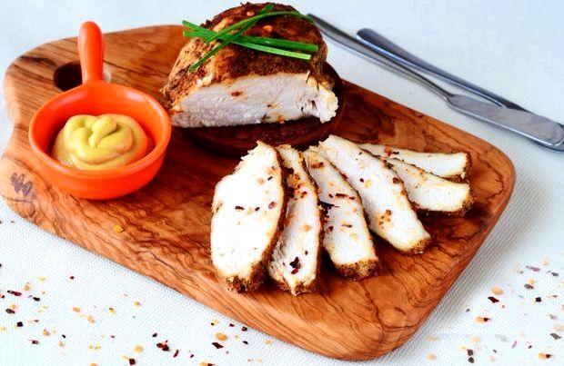 Буженина из куриного филе в духовке