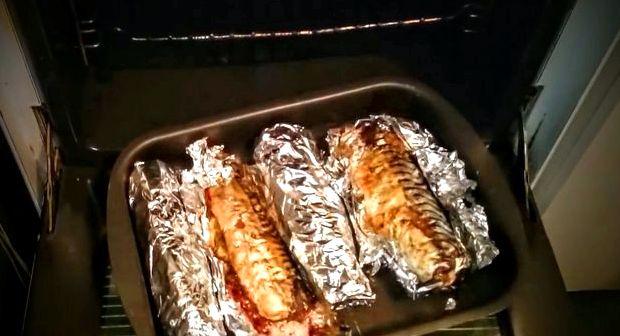 Как запечь речную рыбу в духовке в фольге рецепт с фото