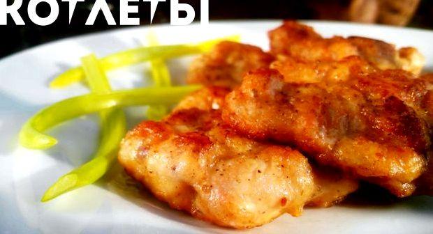 Котлеты из куриного филе рубленного рецепт
