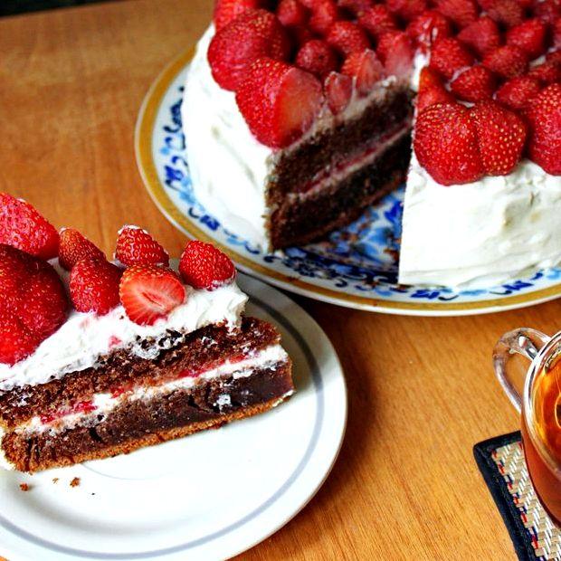 Крем с для торта с маскарпоне и сливками рецепт с фото