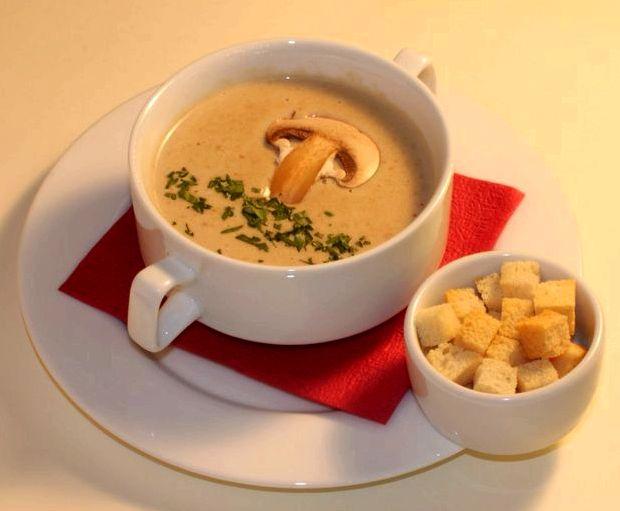 Крем суп из шампиньонов рецепт с фото пошагово