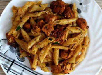 макароны с мясом на сковороде рецепт с фото пошагово в домашних условиях