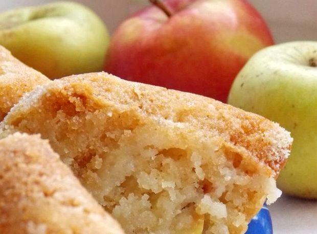 Манник с яблоками на кефире пошаговый рецепт с фото