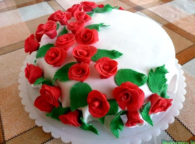 Мастика для тортов в домашних условиях рецепт