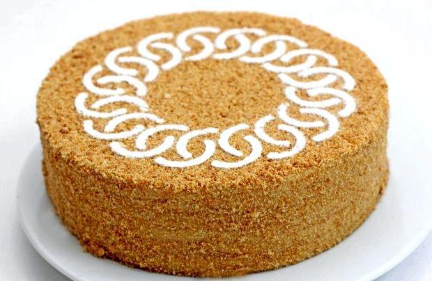 Медовый торт рецепт классический в домашних условиях