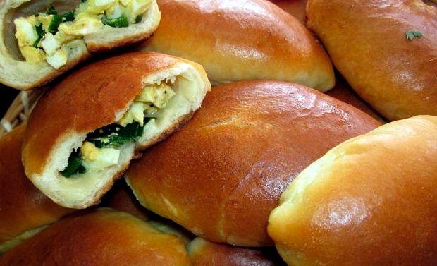 Начинка для пирожков с яйцом и зеленым луком рецепт