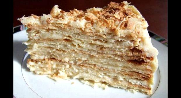 Наполеон торт слоеный рецепт с заварным кремом самый вкусный