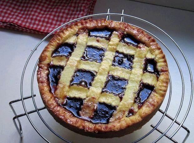 Открытый пирог с повидлом рецепт с фото пошагово в духовке