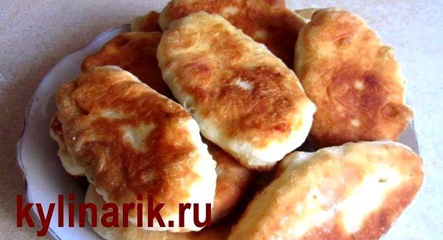 Пирожки на сыворотке жареные без дрожжей бабушкин рецепт
