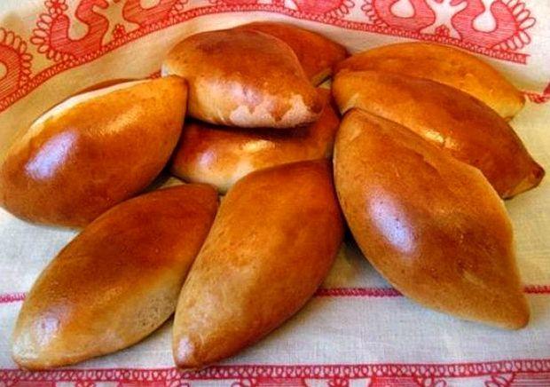 Пирожки с яблоками в духовке рецепт пошаговый