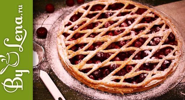 Пирожки с вишней из слоеного теста рецепт с фото
