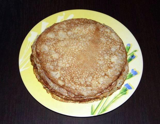 Рецепт блинов на молоке классический с дырочками пошаговый с фото