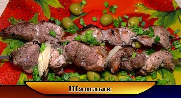 Рецепт классического шашлыка из свинины с уксусом