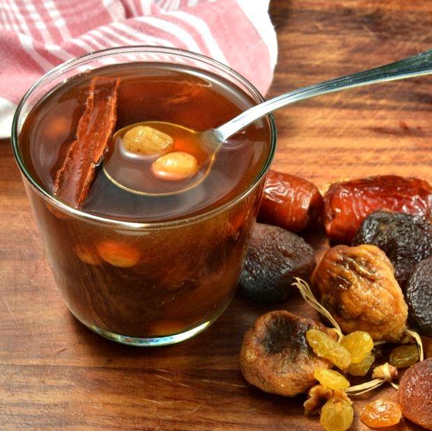 Рецепт компота из сухофруктов с фото пошагово
