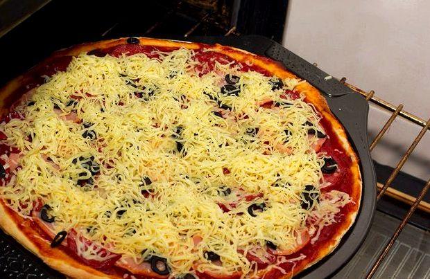 Рецепт пиццы в духовке пошаговый рецепт с фото