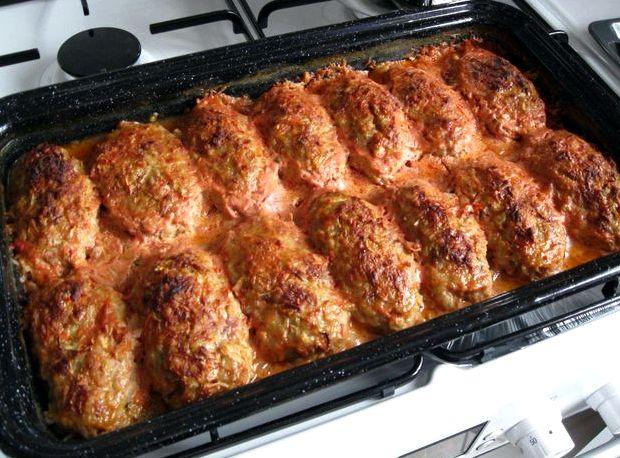 Рецепт приготовления ленивых голубцов с пошаговым фото