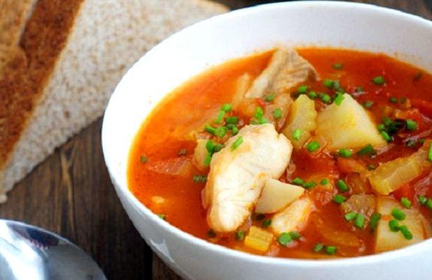 Рецепт средиземноморского супа с морепродуктами