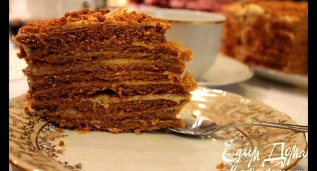 Рецепт торта рыжик в домашних условиях с фото пошагово