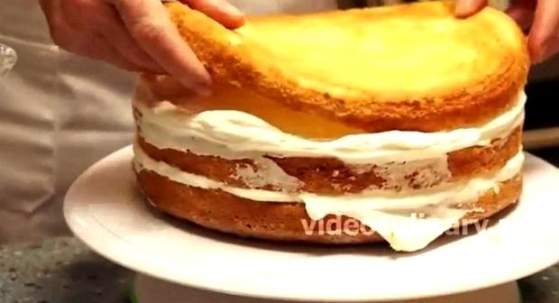 Рецепт вкусного бисквита для торта пошагово с фото