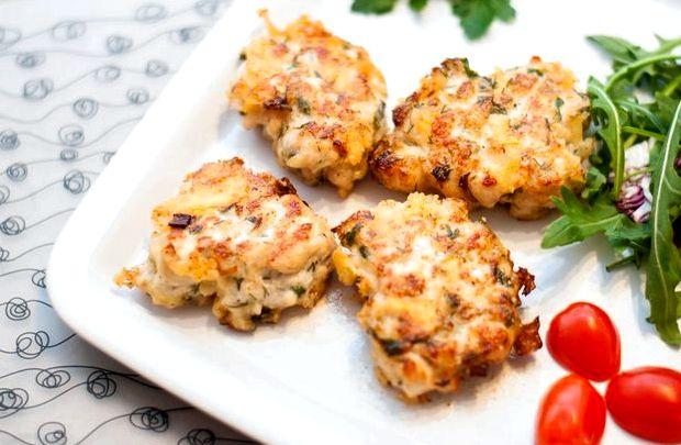 Рубленные котлеты из куриного филе с сыром рецепт