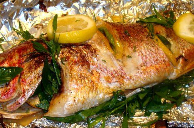 Рыба в фольге в духовке рецепт с фото пошагово